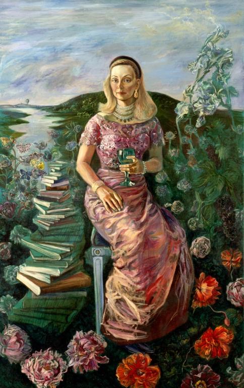 1 Portret Princezny Bettiny Lobkowicz,  200 x 126 cm, 2003, Praha