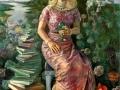 1 Portrait of Princess Bettina Lobkowicz,  200 x 126 cm,  2003, Prague