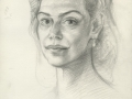 Study-for-Dagmar-Havlova-portrait