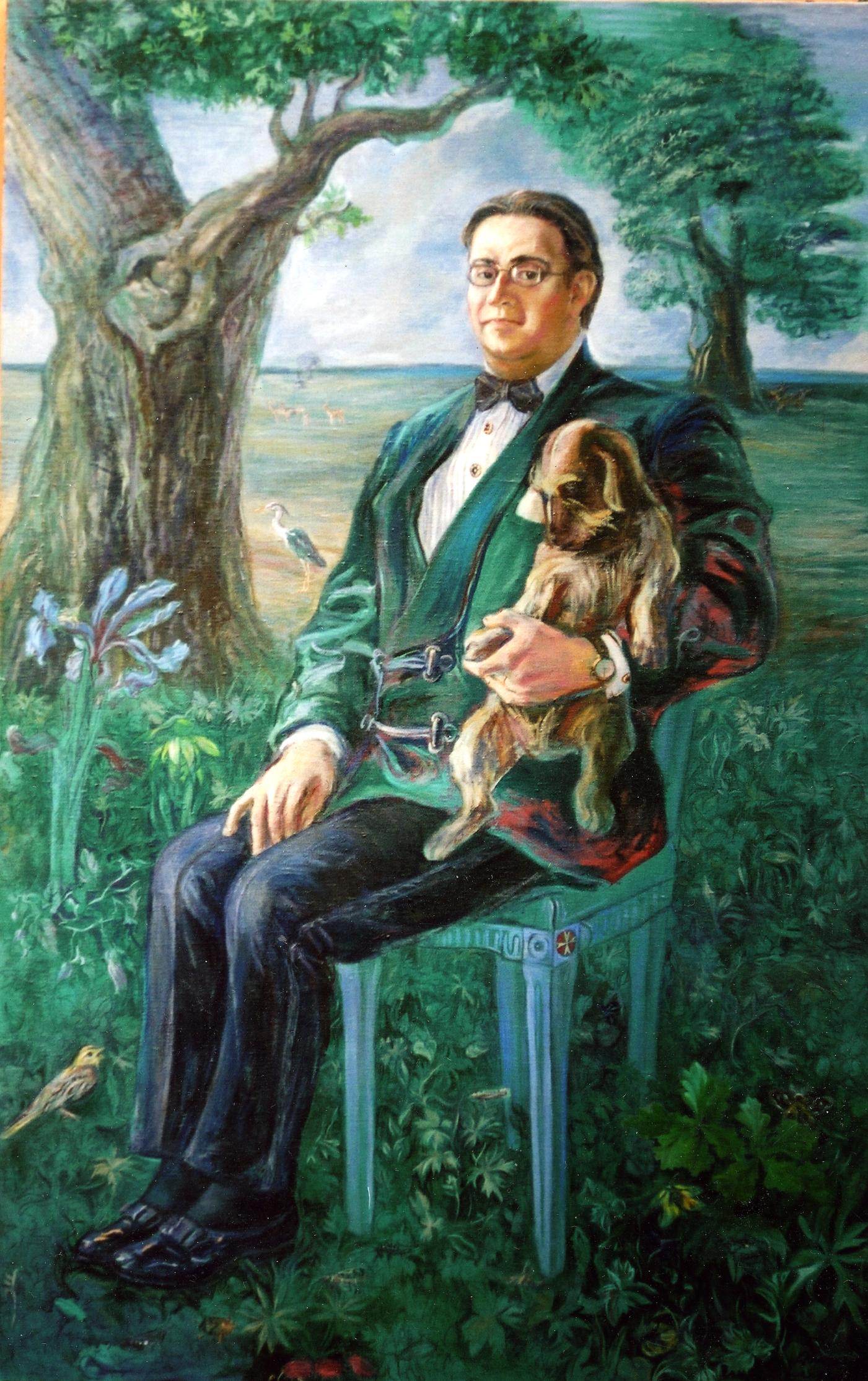 Portrét  Jiřího Lobkowicze