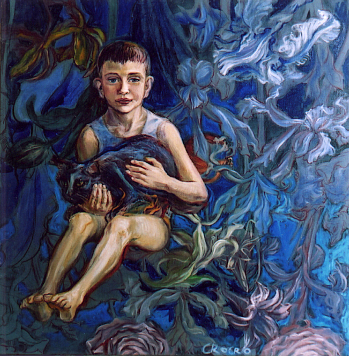 Patrick, 100 x 100 cm, in 2003, Germany