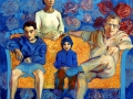Portrét rodiny Hopkinsových