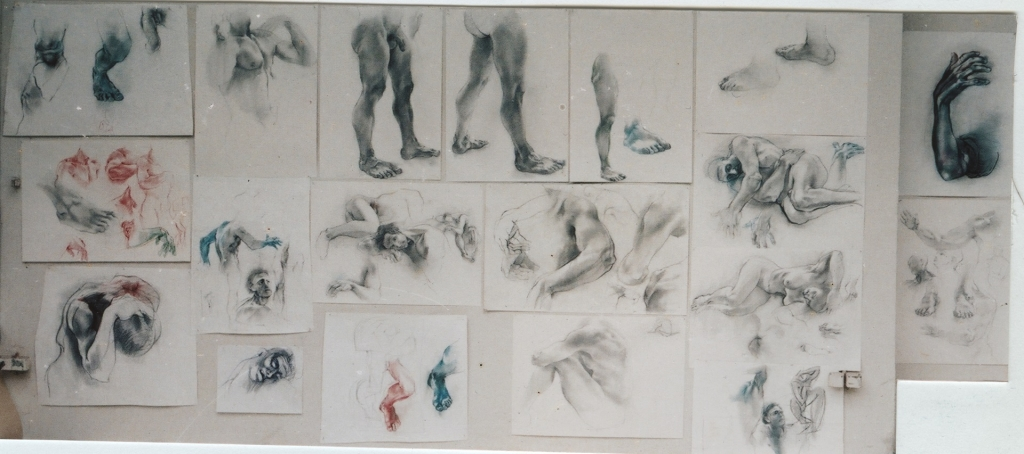 ,,Studies of body""