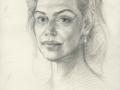 ",, Study for portrait of Dagmar Havlová"""