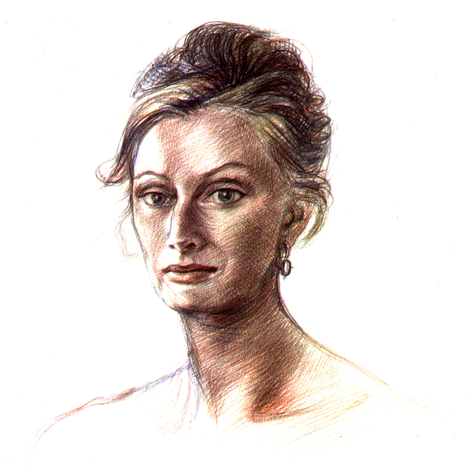 """,,Studie pro portrét Gry Iverslien"""""""